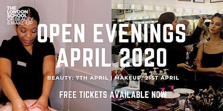 The London School Of Beauty & Makeup Open Evenings tickets