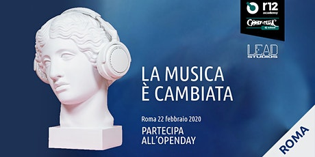 R12 academy, Goody Music dj school, Lead Studio - Roma Openday biglietti