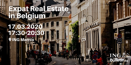 Free seminar on Buying Real Estate for Expats living in Belgium