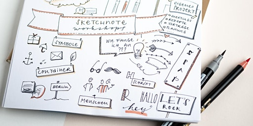 Sketchnote Workshop Basic 8.April 2020