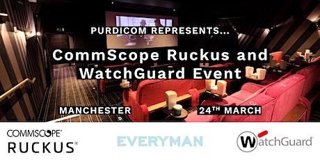 CommScope Ruckus & WatchGuard Event tickets