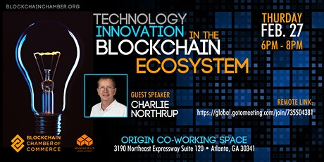 Technology Innovation in the Blockchain ECOsystem tickets