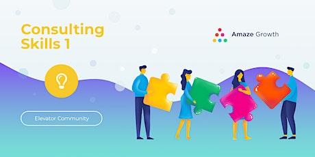 Virtual: Consulting Skills I  for Digital Marketing Agencies biljetter