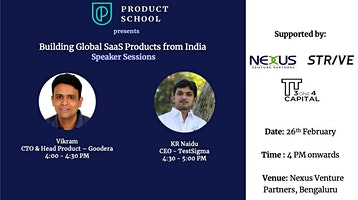 Building Global SaaS Products from India