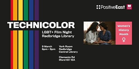 TECHNICOLOR - LGBT+ Film Night in Redbridge tickets