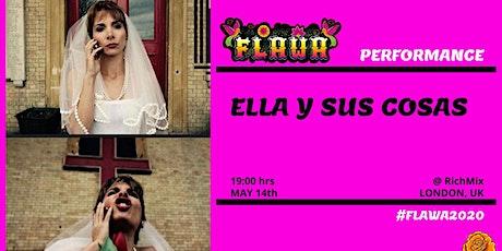 Ellas y sus cosas / Teatro en español / FLAWA tickets