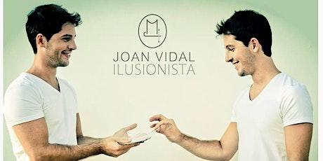 Juan Vidal - Magia ¿ES POSIBLE LO IMPOSIBLE?  ( CULTURA EN BARRIOS ) entradas