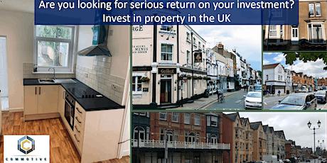 Veilig investeren in vastgoed in het Verenigd Koninkrijk tickets