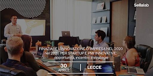 Finanziare l'innovazione d'impresa nel 2020: Startup e PMI innovative