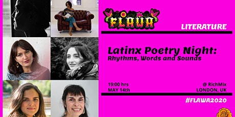 Latinx Poetry Night: Rhythms, Words and Sounds  / FLAWA tickets