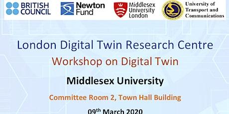 Workshop on Digital Twins for Global Digital Transformation tickets