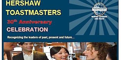 Hershaw Toastmasters 30th Anniversary Celebration
