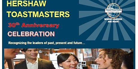 Hershaw Toastmasters 30th Anniversary Celebration tickets