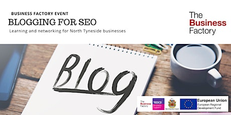 Blogging for SEO | Thursday 19th March at 9.30am tickets