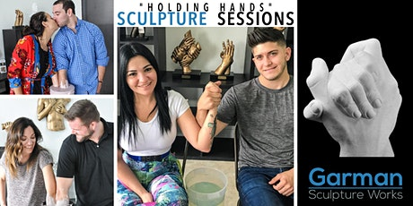 Holding Hands Sculpture Session - Only $49 per person tickets
