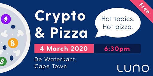 Luno Crypto & Pizza - Cape Town