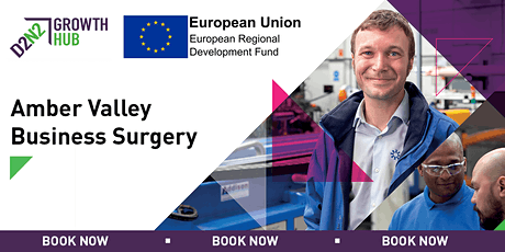 Amber Valley Business Surgeries -19th March 2020 tickets