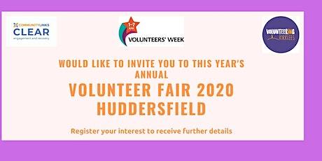 Volunteer Fair 2020 tickets