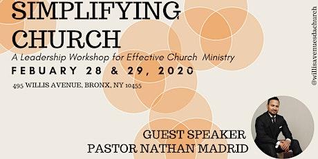 Simplifying Church - Leadership Workshop tickets