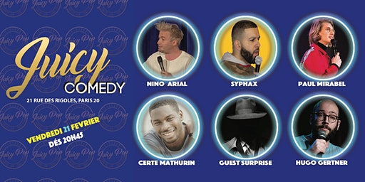 Juicy Comedy : Le BEST OF