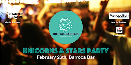 Digital Sapiens Unicorns & Stars Party entradas