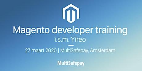 Magento developer training tickets