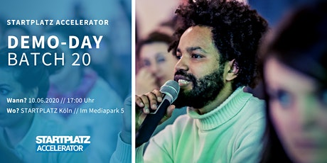 STARTPLATZ Accelerator - Demo Day Batch #20 Tickets