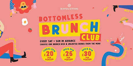 Bottomless Brunch tickets