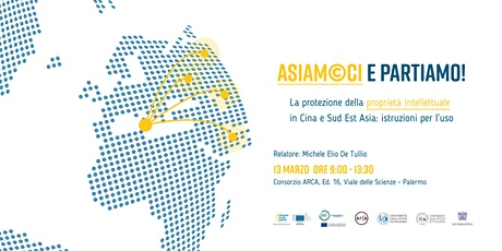 ASIAMOCI e partiamo! La protezione della proprietà intellettuale in Asia PA biglietti