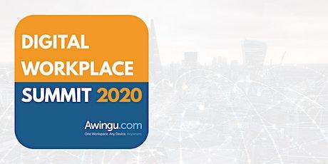 Digital Workplace Summit 2020 - by Awingu billets