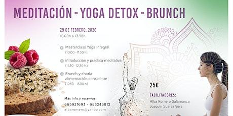 Yoga, Meditación, Brunch y Alimentación Consciente entradas