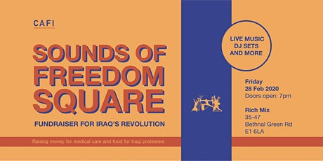 Sounds of Freedom Square - Fundraiser for Iraq's Revolution tickets