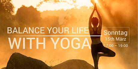 Balance Your Life with Yoga - kostenloser Workshop Tickets