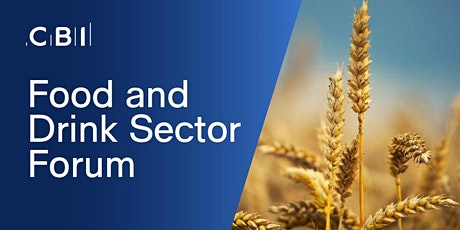 Food and Drink Sector Forum tickets