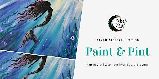 Paint & Pint - Mermaid Tales