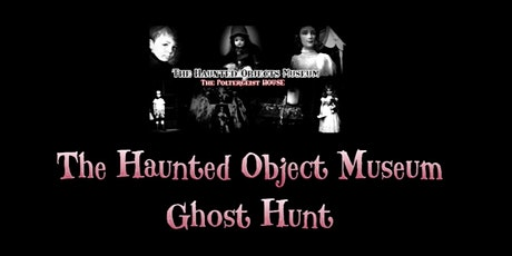 HALLOWEEN Haunted Museum Ghost Hunt  Optional Sleepover Poltergeist House tickets