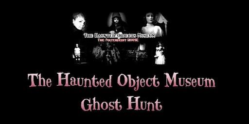 HALLOWEEN Haunted Museum Ghost Hunt  Optional Sleepover Poltergeist House