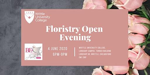 Writtle University College Floristry Open Evening