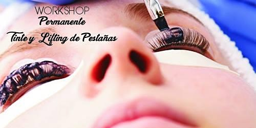 Workshop Permanente, Tinte y Lifting de Pestañas