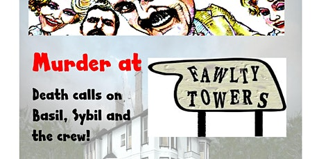 Dunsley Hall Hotel Kinver South Staffs  Fawlty Towers Murder Mystery event tickets