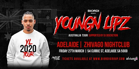 Youngn Lipz - Adelaide 2020 (+18) tickets