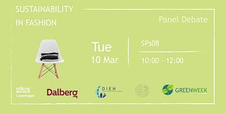 Green Week: Sustainability in Fashion tickets