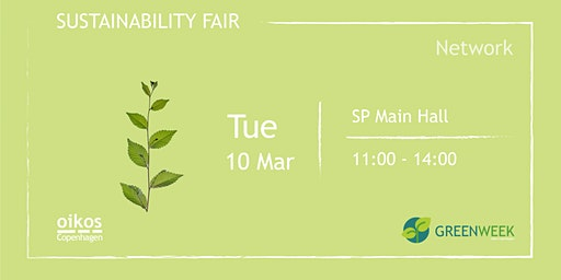 Green Week: Sustainability Fair