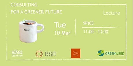 Green Week: Consulting for a Greener Future? tickets
