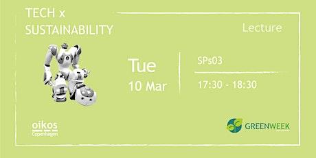 Green Week: Tech & Sustainability tickets
