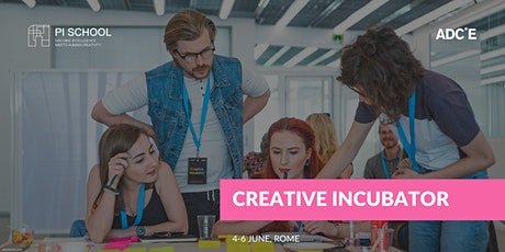 Creative Incubator Rome biglietti