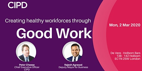 Creating healthy workplaces through Good Work tickets