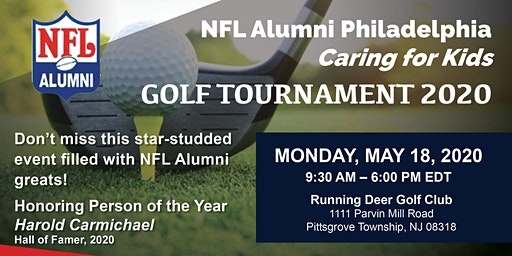 "NFL Alumni Philadelphia "" Caring for Kids"" Golf Tournament"