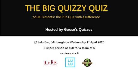 SoHK Presents: THE BIG QUIZZY QUIZ tickets