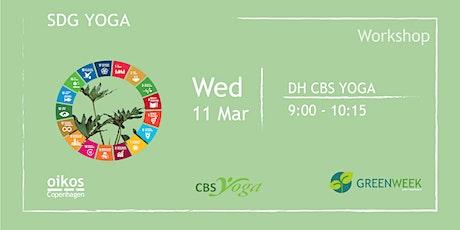Green Week: SDG Yoga tickets